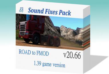 Sound Fixes Pack v20.66 - ATS + ETS2 1.39