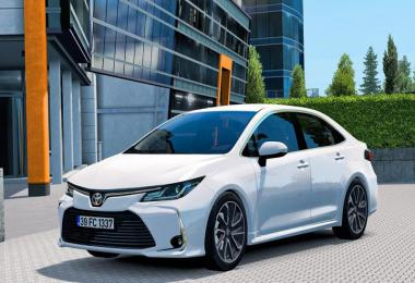 Toyota Corolla 2020 v1.5 1.39.x