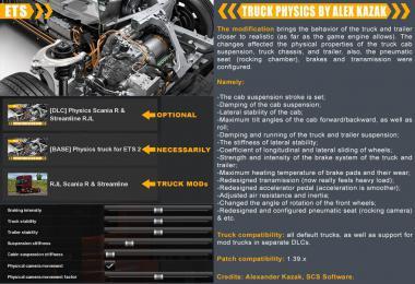 TRUCK PHYSICS BY ALEX KAZAK v0.3.1