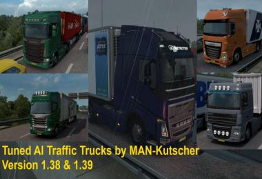 Tuned Trucks in AI Traffic v1.0 by MAN-Kutscher 1.39.x