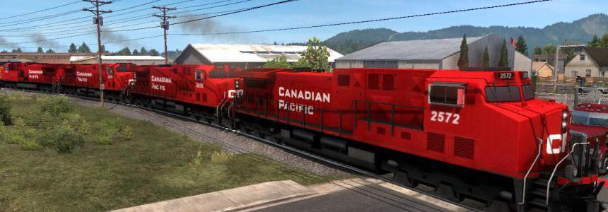ProMods Canada addon for Improved Trains mod 3.6.rev.5