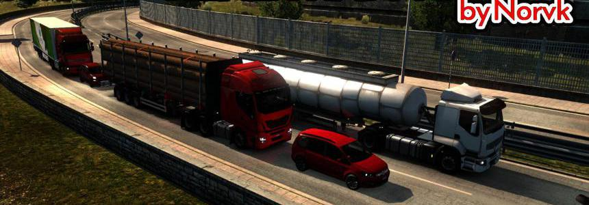 Realistic traffic density 1.39.x