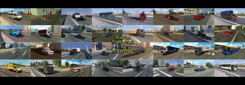 Russian Traffic Pack for Eastern Express v3.1.1 1.39