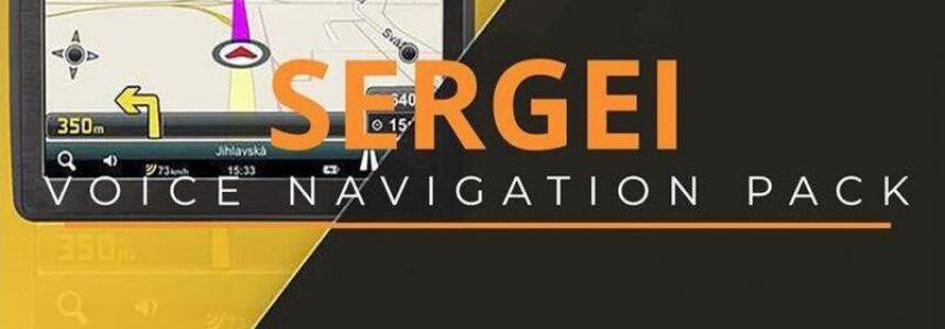 SERGEY VOICE NAVIGATION PACK v2.0