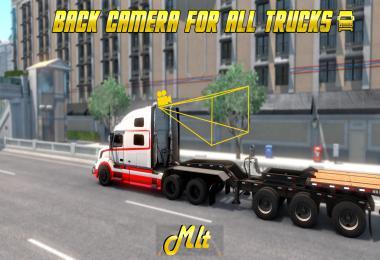 Back Camera For All ATS Truck (Rear Camera) 1.39