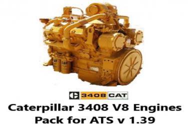 Caterpillar 3408 V8 (with electric start) v1.0