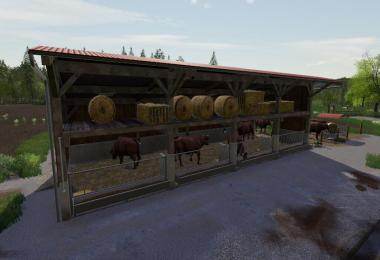 Cattle Barn With Strawstage v1.0.0.0