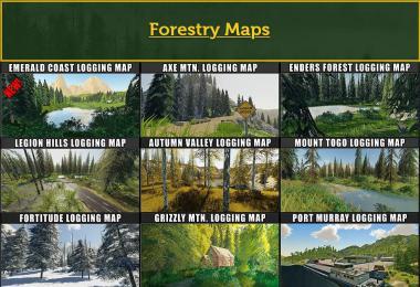 FDR Logging Mods Pack December - 2020 v1.0