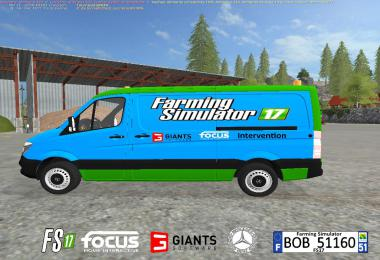 Mercedes Spinter FS17 By BOB51160 v1.0.0.0