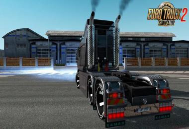 Kamaz 6460 Turbo Diesel V8 + Interior v1.7 1.39.x