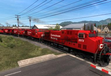 ProMods Canada addon for Improved Trains mod 3.6.rev.5