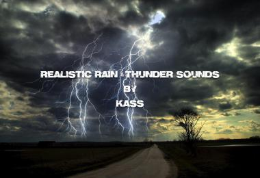 Realistic Rain & Thunder Sounds ATS v2.8 1.39