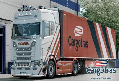 Scania S VTC CARGOTRAS Truckers MP 1.39