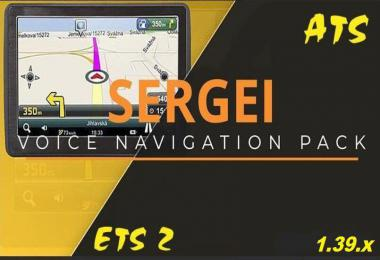 SERGEY VOICE NAVIGATION PACK v2.0