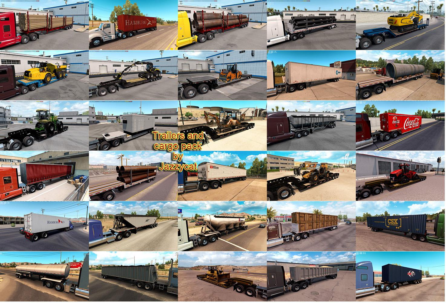 Trailers and Cargo Pack by Jazzycat v4.2