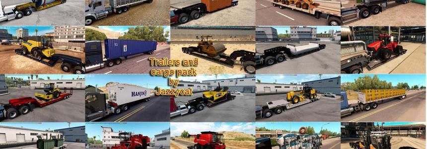 Trailers and Cargo Pack by Jazzycat v4.1