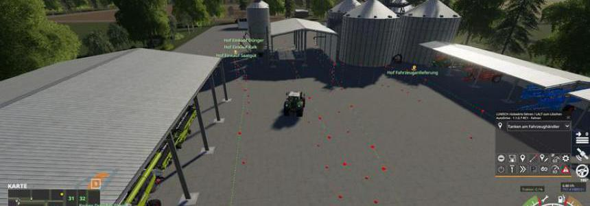 Auto Drive Courses of the American Dream Map v1.0