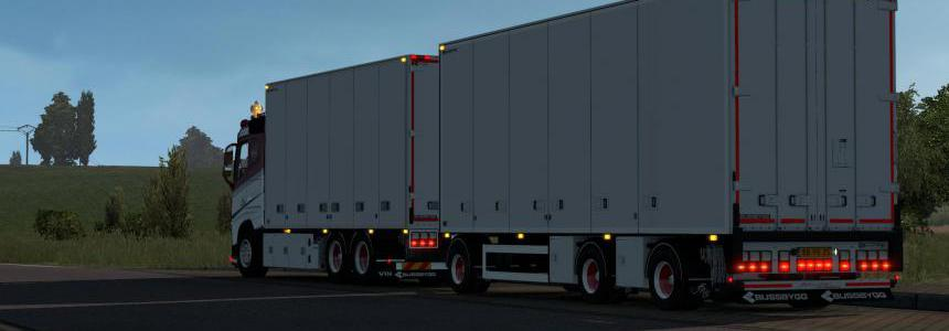 Bussbygg 3 Achsle trailer for rjl chassis addon 1.39