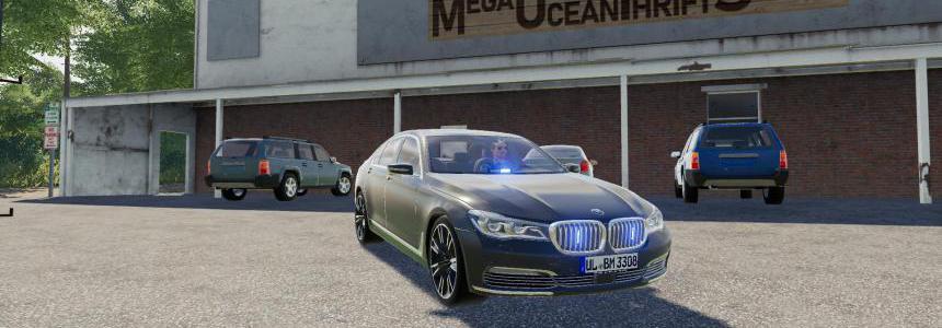 FS19 BMW 7 Series VIP v1.0.0.0