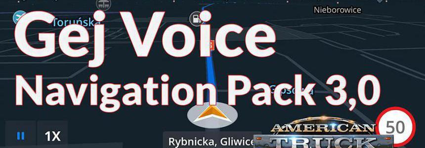 Gej Voice Navigation Pack v3.0