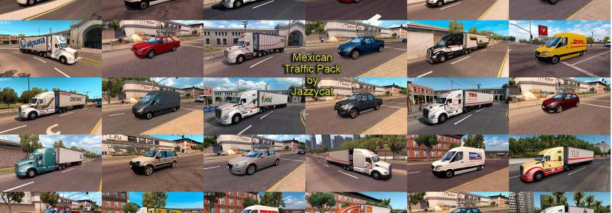 Mexican Traffic Pack by Jazzycat v2.3