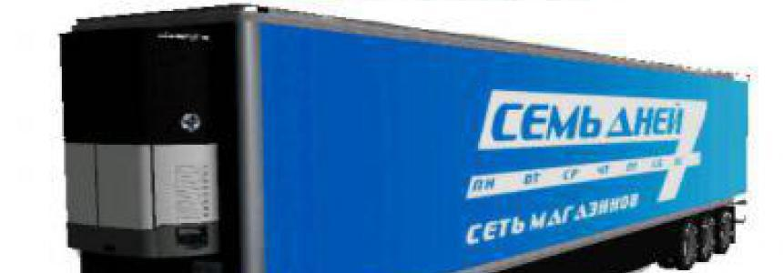 Refrigerated industrial trailer CEMB AHEN v2.0.0.0