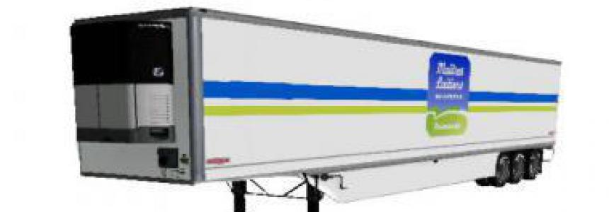Refrigerated industrial trailer MAITRES LAITIERS v2.0.0.0