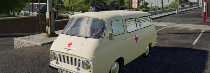 Skoda 1203 Ambulance v1.0.0.0