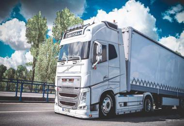 Volvo FH 16 540 V3 Tanju Akdogan Edit 1.39