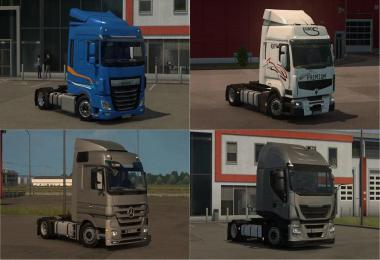 Low Deck chassis ADDONS FOR SCHUMI'S TRUCKS v4.8