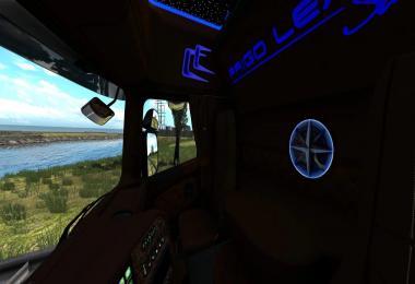 Scania RJL Interior Frigo Leader Sarantos Style 1.39
