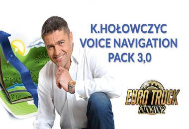 ETS2 K.Holowczyc Voice Navigation Pack v3.0