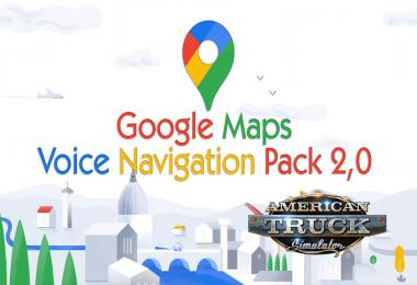[ATS] Google Maps Voice Navigation Pack v2.0