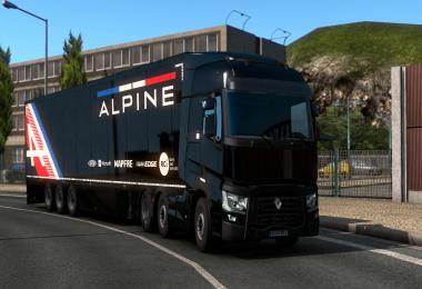 Alpine F1 Pre-Season Style Trailers v1.0