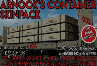 Arnook's SCS Containers Skin Project V7 - 1.39.x
