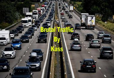 [ATS] Brutal Traffic by Kass v1.0