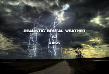 [ATS] Realistic Brutal Weather v3.0 1.39.x