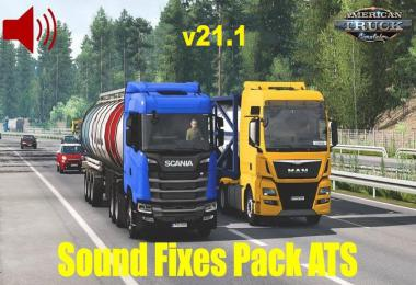 [ATS] Sound Fixes Pack v21.1 1.39.x
