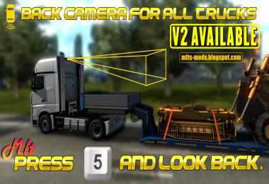 Back Camera For All Truck v2 by MLT (Rear Camera) v2.0