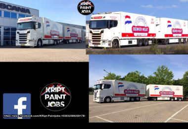 BEIMER MEAT Skin For Scania S v1.0