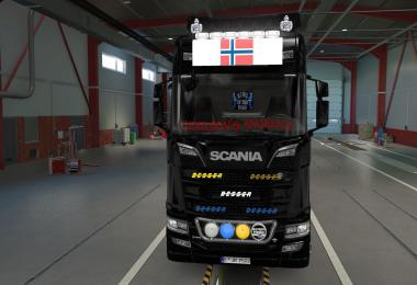 BIG LIGHTBOX SCANIA R AND S 2016 FLAG OF NORWAY 1.39
