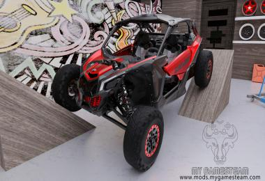 Can-Am Maverick X RS Turbo R 2018 v1.0.0.0