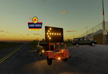 Construction Arrow Trailer v1.0.0.0