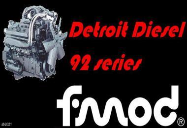 Detroit Diesel 92 Series v1.0 1.39.x