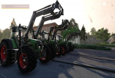 Fendt 700/800 TMS with TirePressure and more v4.1