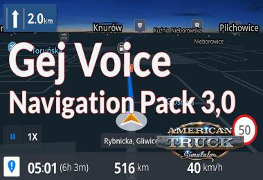 Gej Voice Navigation Pack v3.0