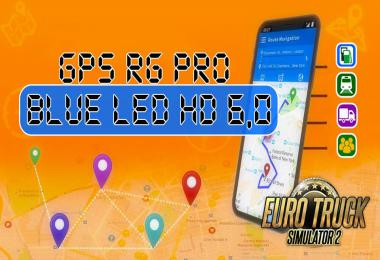 GPS RG PRO BLUE LED HD v6.0