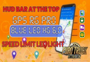 GPS RG PRO BLUE LED HG v6.0