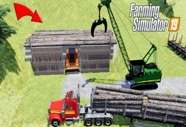 How to Build Tree Log Shed or Garage v1.0.0.0