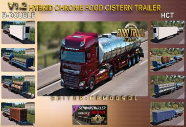 Hybrid Chrome Food Cistern Trailer Mod v1.2